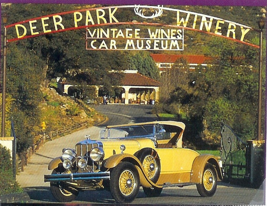 Wine Deer Park Winery Auto Museum San Diego CA Home - Riverside casino car show